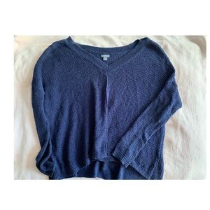 Aerie Blue Knit Sweater